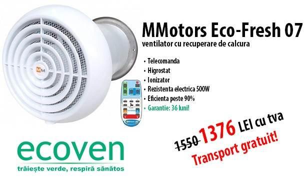 Sistem ventilatie mmotors eco fresh 07