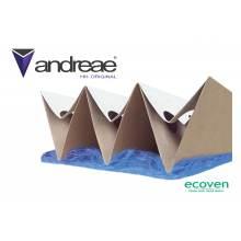 Filtru vopsitorie Andreae High Holding AF751 maro, suprafata 8 mp, latime 75 cm