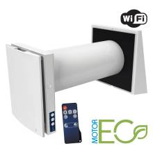 Sistem de ventilatie cu recuperator de caldura Blauberg Vento Expert A50-1 W cu WiFi incorporat