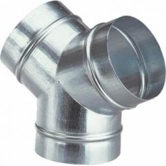 Piesa metalica Y tabla zincata Ø 315 mm